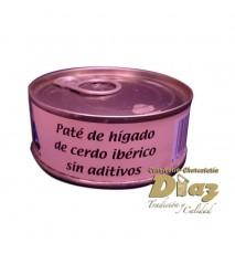 Pate de higado de cerdo Ibérico La Charra de Cuidad Rodrigo, Salamanca