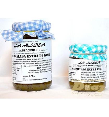 Mermelada artensana La Aldea Kiwi