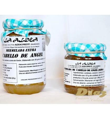 Mermelada artensana La Aldea de Cabello de Ángel