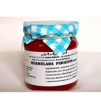 Mermelada artesana La Aldea de Pimiento Rojo
