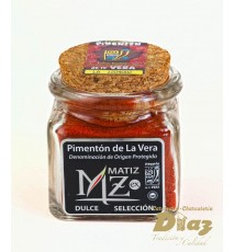 Pimenton dulce D.O de la Vera en Tarro de cristal 40 g