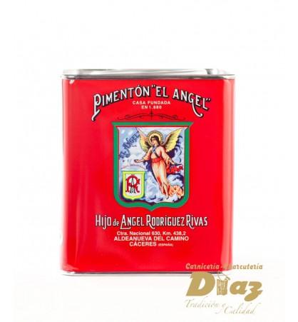 Pimentón EL ANGEL en lata litografiada de 2,625 Kg y 5,450 Kg