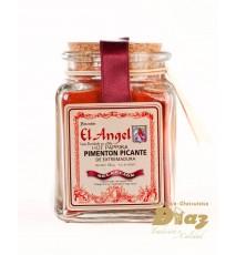 Pimentón EL ANGEL en tarro de cristal con tapadera artesanal 100 g